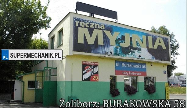 myjnia ul. burakowska Warszawa