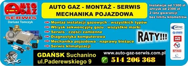 autogaz serwis Gdańsk